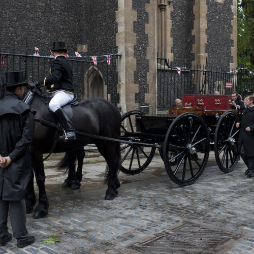 Unknown Victorian Londoner reburied in style to make way for viaduct