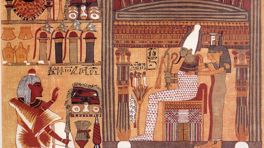 An Interpretation of the Ancient Egyptian Concept of Death and Dying