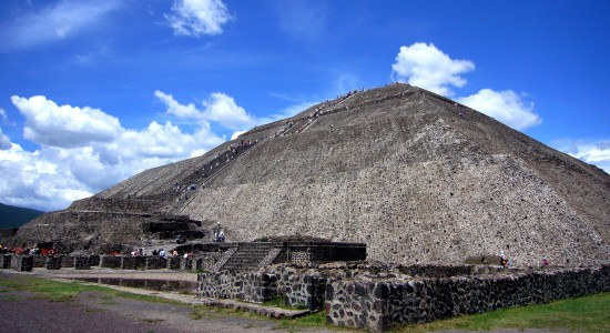Pyramid of the Sun : Wiki Commons