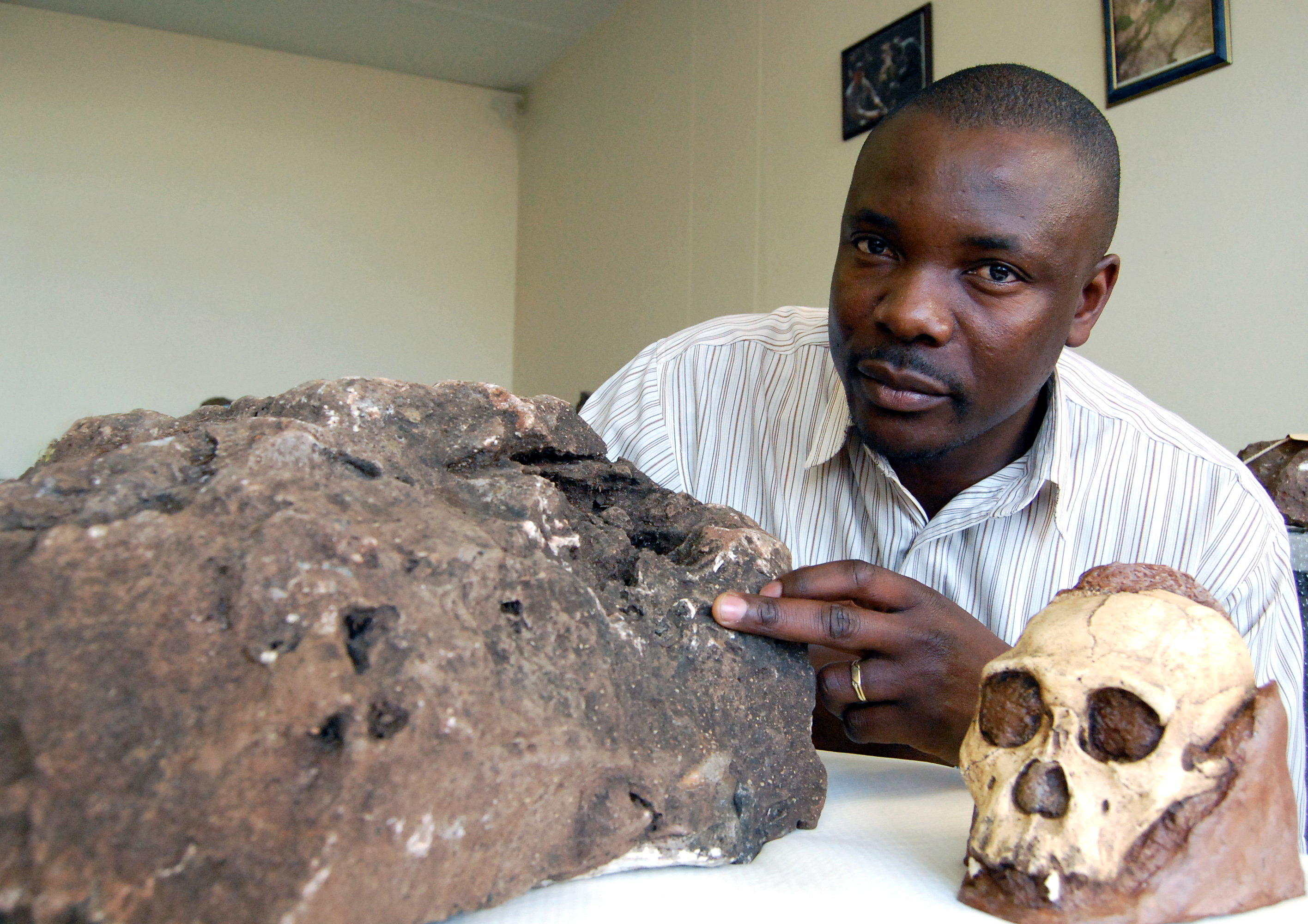 Fossil_3_Justin Mukanku from the Wits Institute of Human Evolution spotted the tooth.