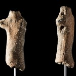 Ancient prehistoric figurine discovered from the Middle Neolithic