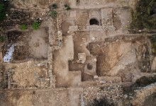 Temple and rare cache of sacred vessels from Biblical times discovered at Tel Motza