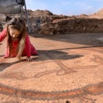 Discovery of a major church with mosaic from the Byzantine period