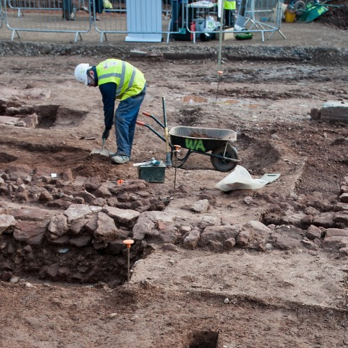 Medieval age revealed at Cannington Court