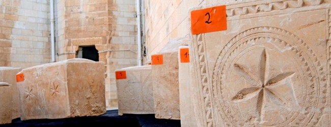 Two Thousand Year Old Ossuaries Containing Jewish Bones from the Second Temple Period Seized