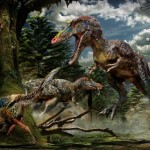Newly found dinosaur is long-nosed cousin of Tyrannosaurus rex