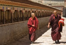 The Tibetan lama who wrote a world geography