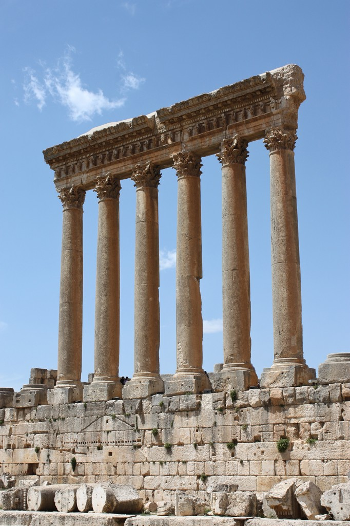 The Temple of Jupiter, Baalbek: WikiPedia