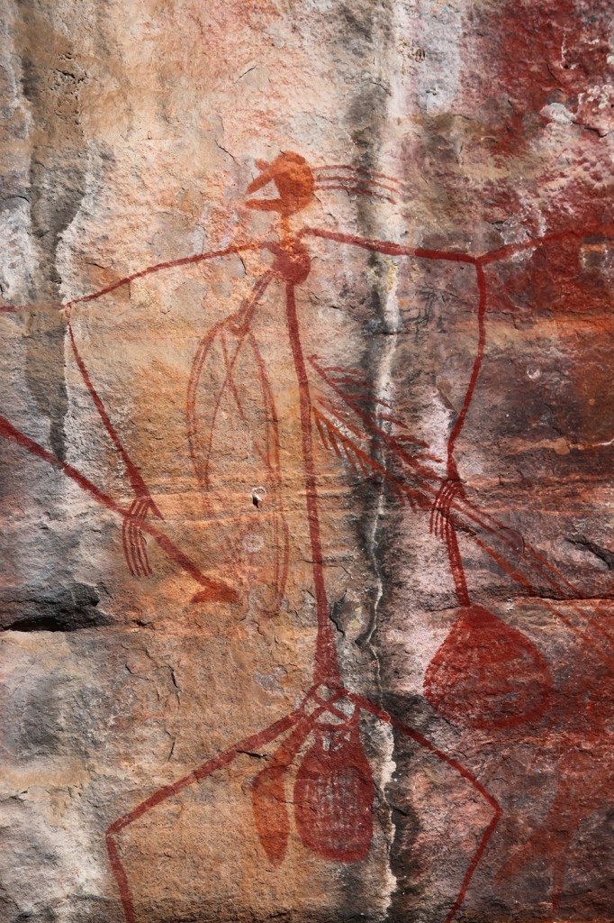 Kakadu Rock Paintings: Wikimedia
