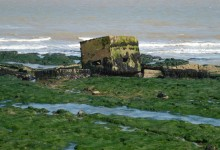 Historic WW2 Defences uncovered on the Suffolk Coast