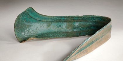 Bronze Age dirk dagger used as doorstop saved with grant from the NHMF